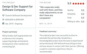 Nix Solutions Reviews
